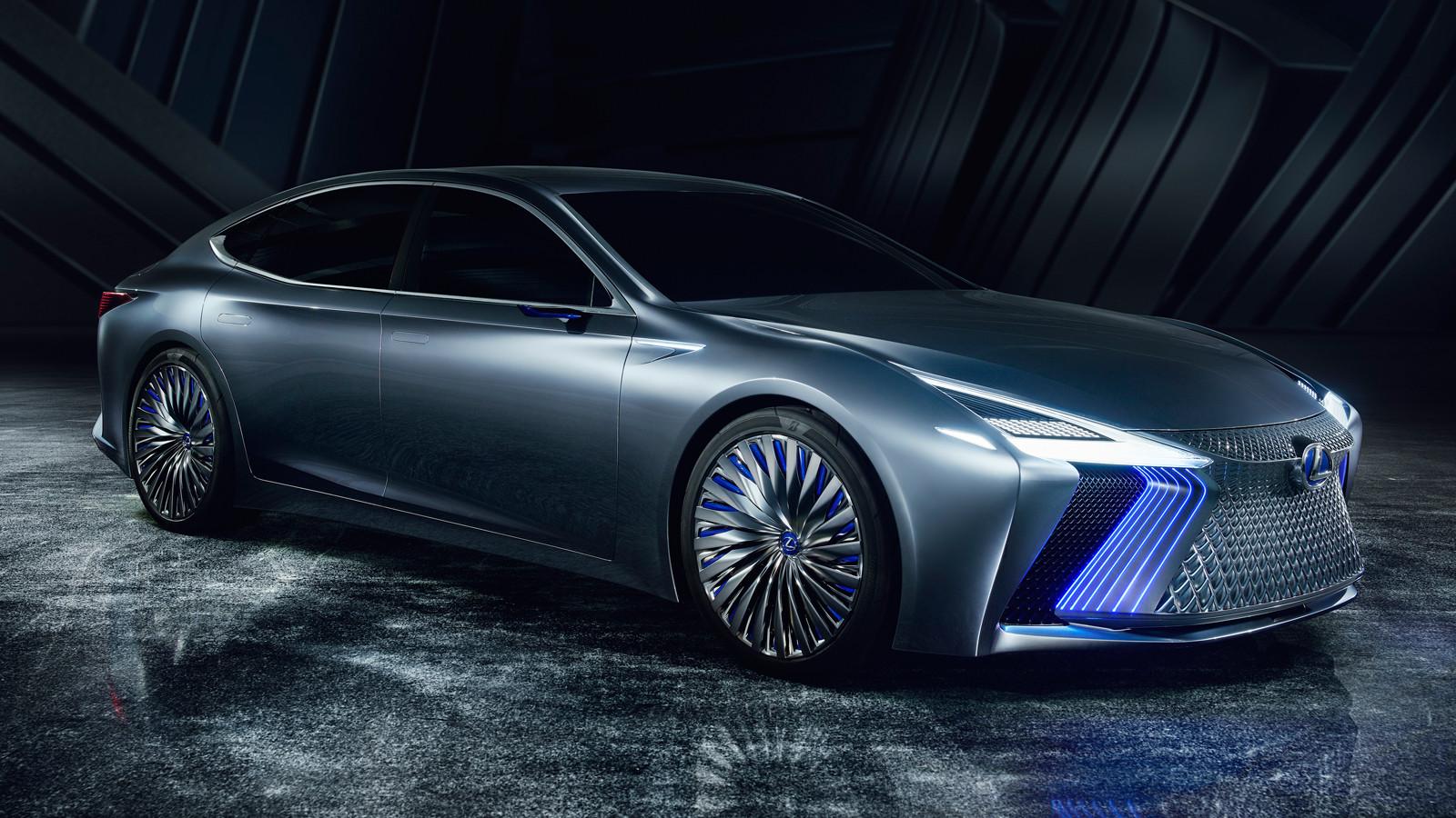 В Токио представлен концепт-кар Lexus LS+ (6 фото)