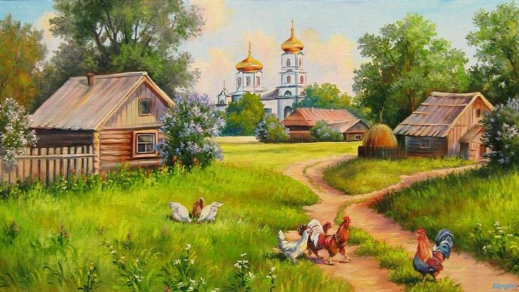 Необычные деревни России, в которые однажды стоит приехать (15 фото)