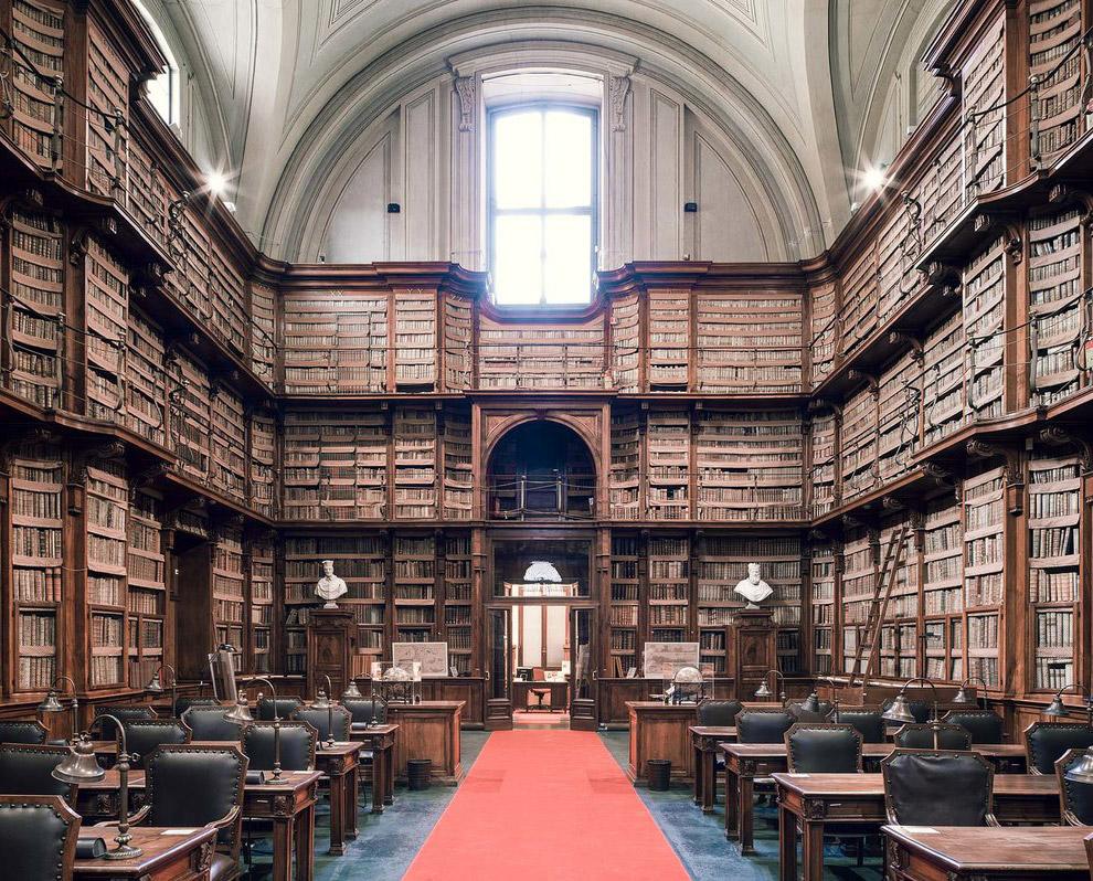 13. Bibliotheque de Musee Guimet, Paris. Еще одна красивая библиотека в Париже.