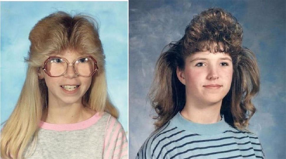 Модные прически 80-х-90-х годов (15 фото)
