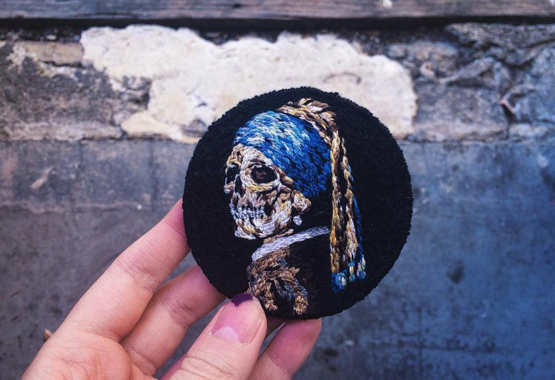The beautiful embroidery by Lucena (18 pics)