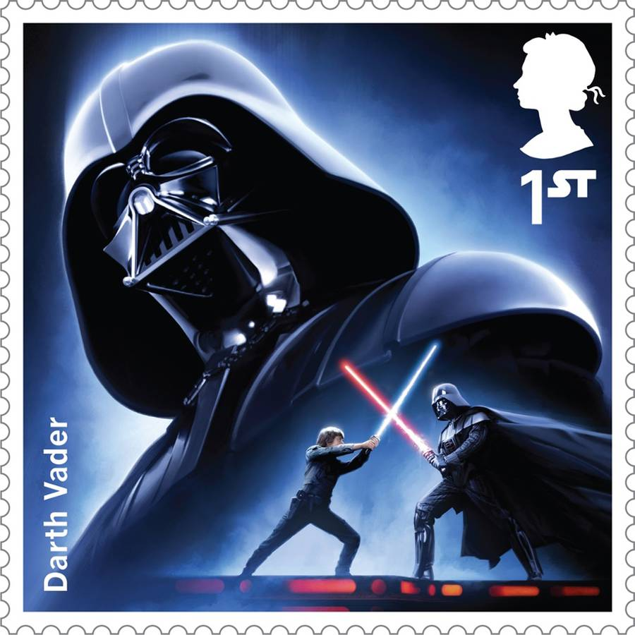 Star Wars Stamps (12 pics)