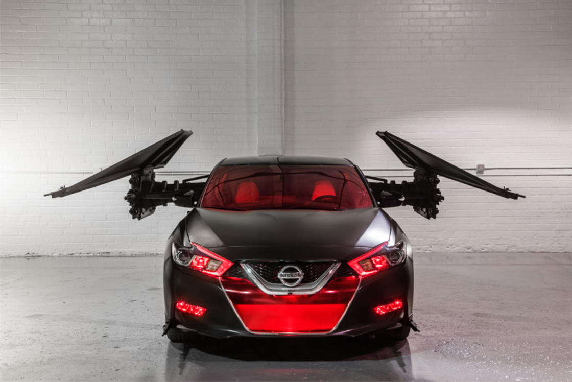 Nissan Star Wars – When Nissan pays tribute to the Star Wars spaceships