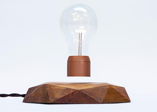 Magnetic Levitating Lamp