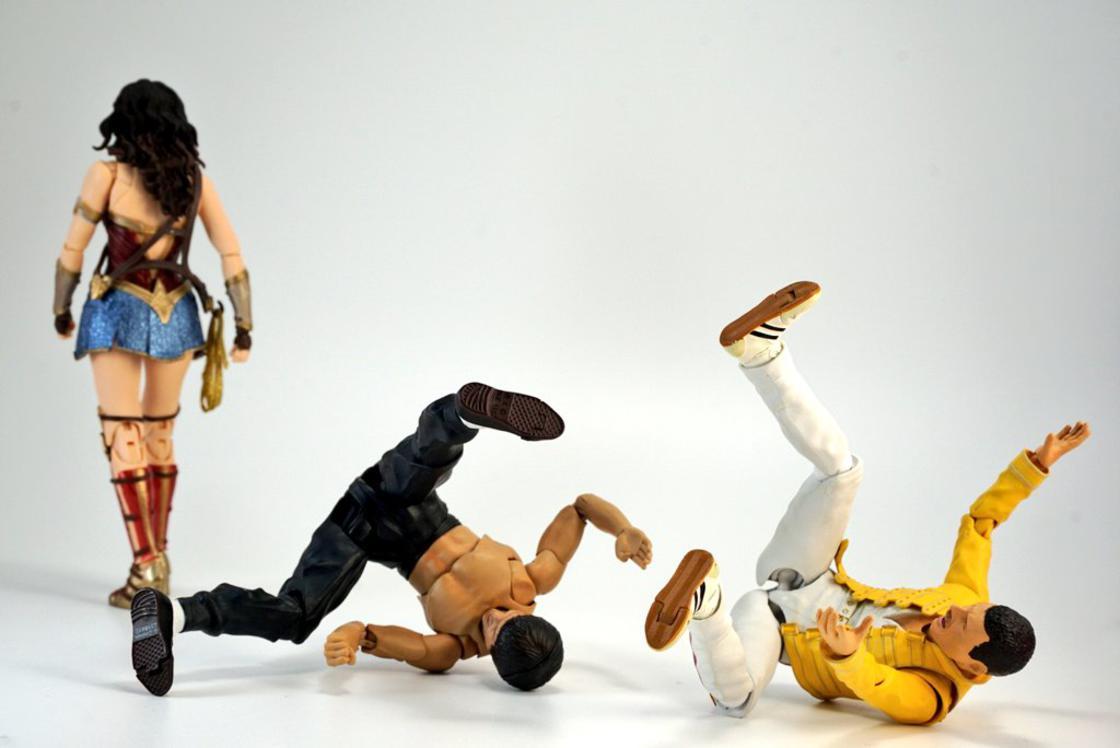 The offbeat adventures of Bruce Lee and Freddie Mercury