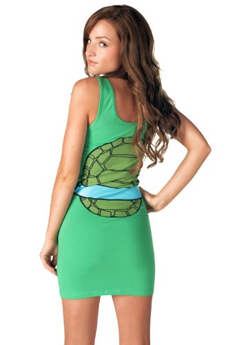 Ninja Turtles and Power Rangers Sexy mini-Dresses for geeky girls