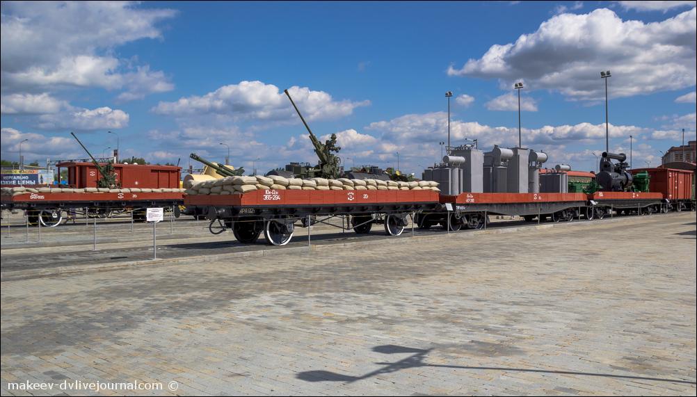 Музей боевой славы Урала. Железнодорожная часть