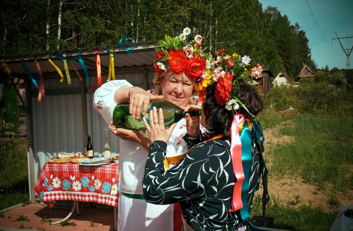Давай, давай по маленькой: Свадьба в украинском стиле