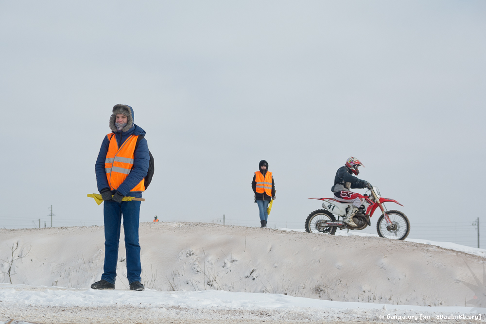 Мотокросс на Максимке / январь 2018