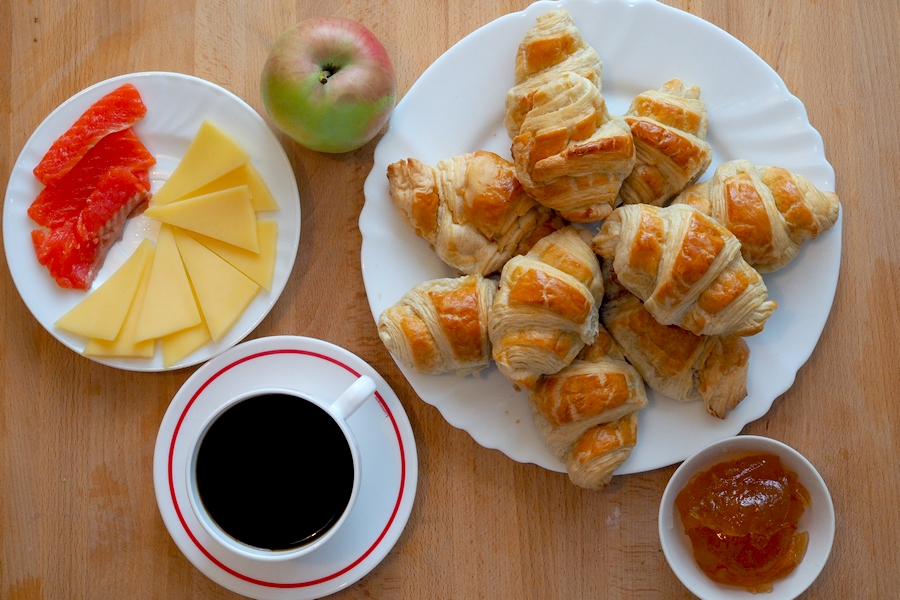 картинки французского завтрака это