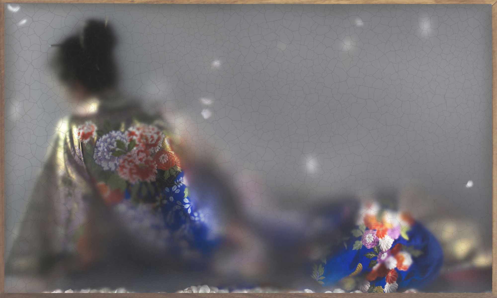 Каспер Фаассен. Соединив фотографию и живопись.