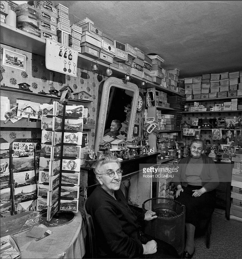1961. Мадам Ганьер, галантерейщица в Лаффре