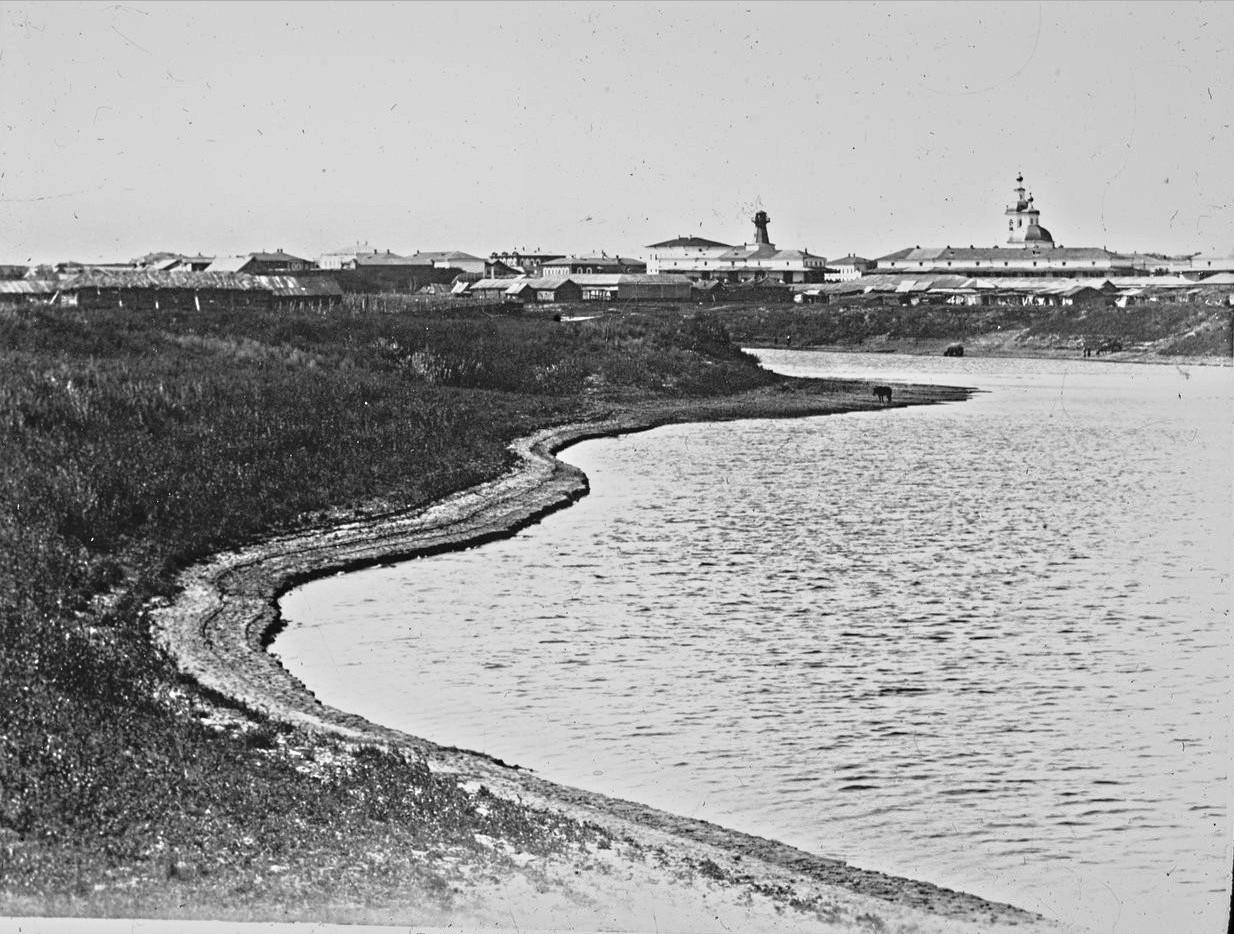 Курган. Река Тобол