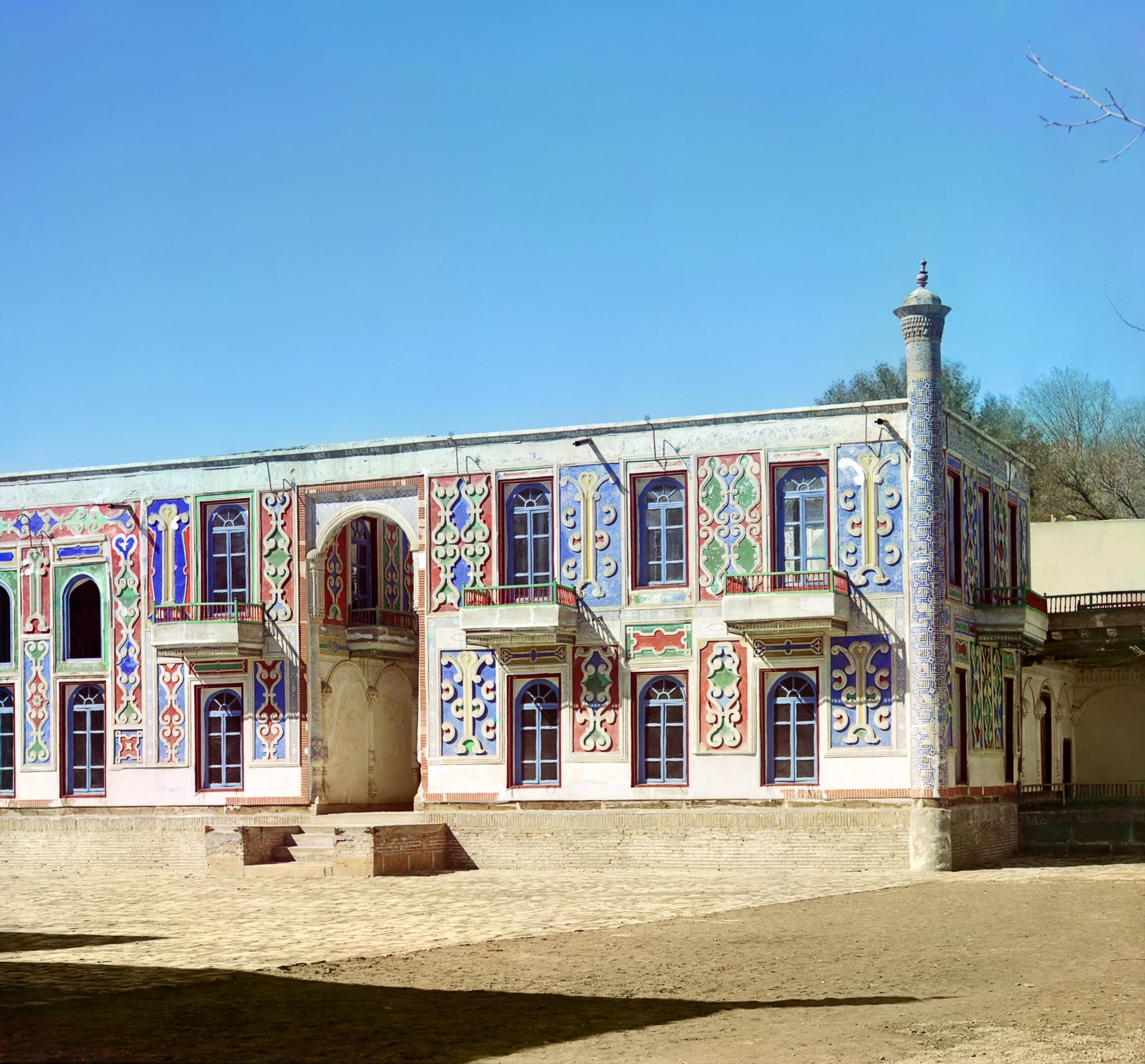 Дворец в загородном саду Эмира Шир-Будун