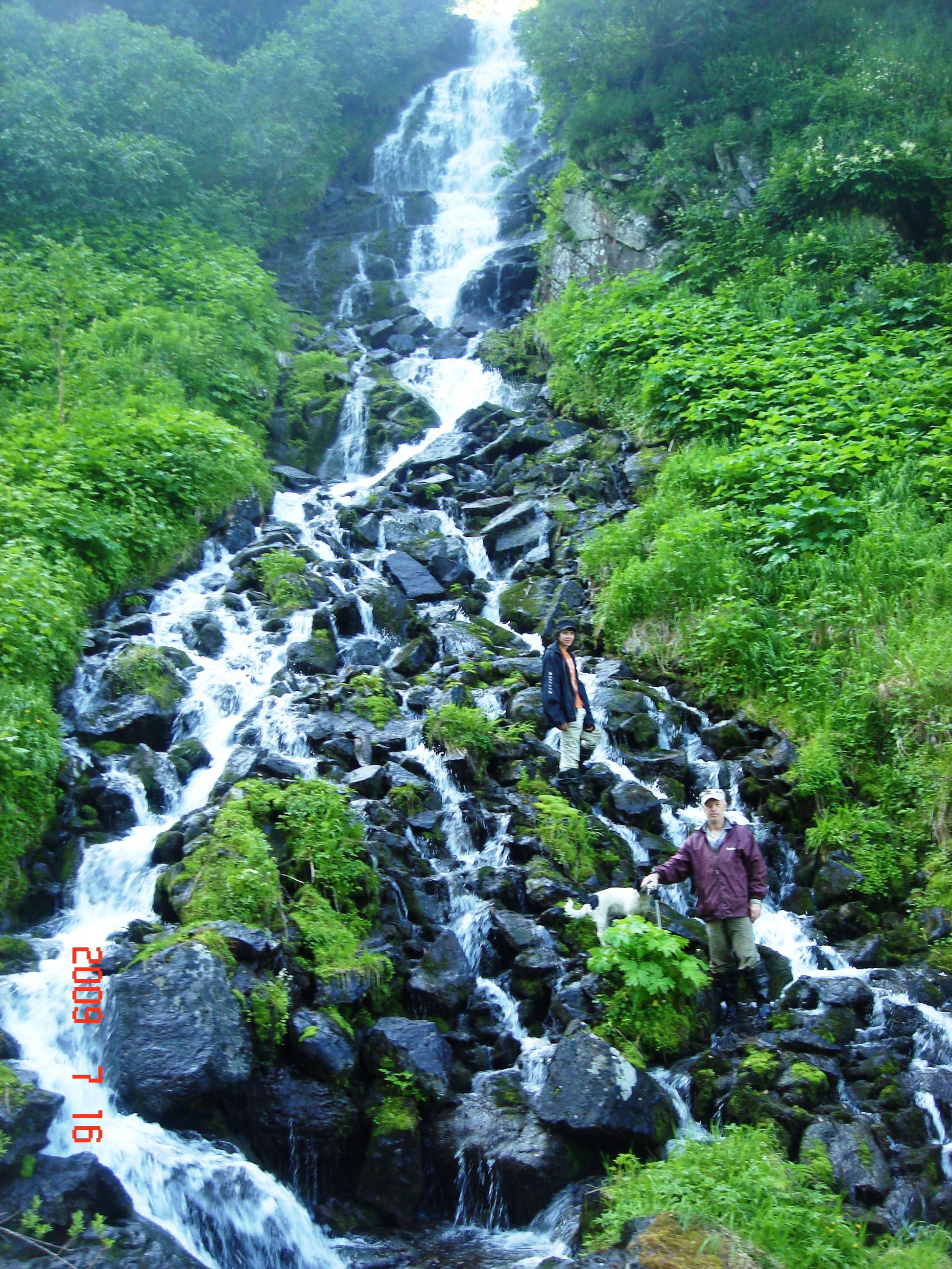 Водопад в окрестностях Елизово.
