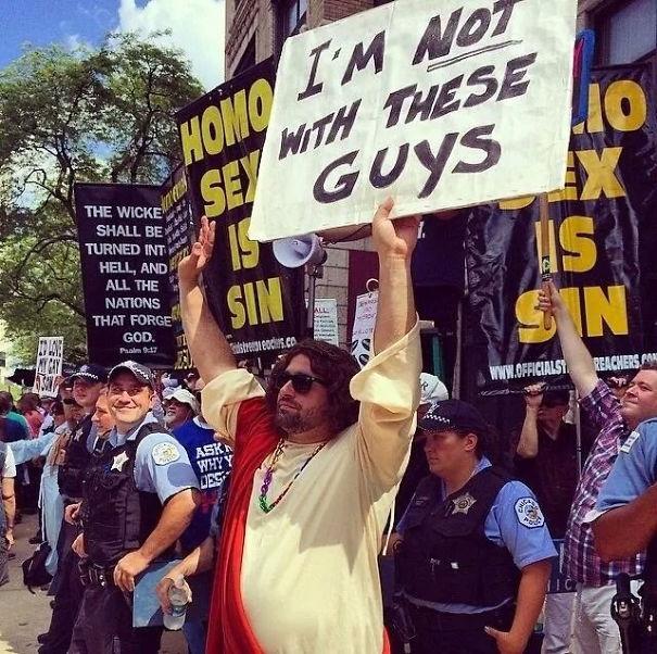 Троллинг протеста