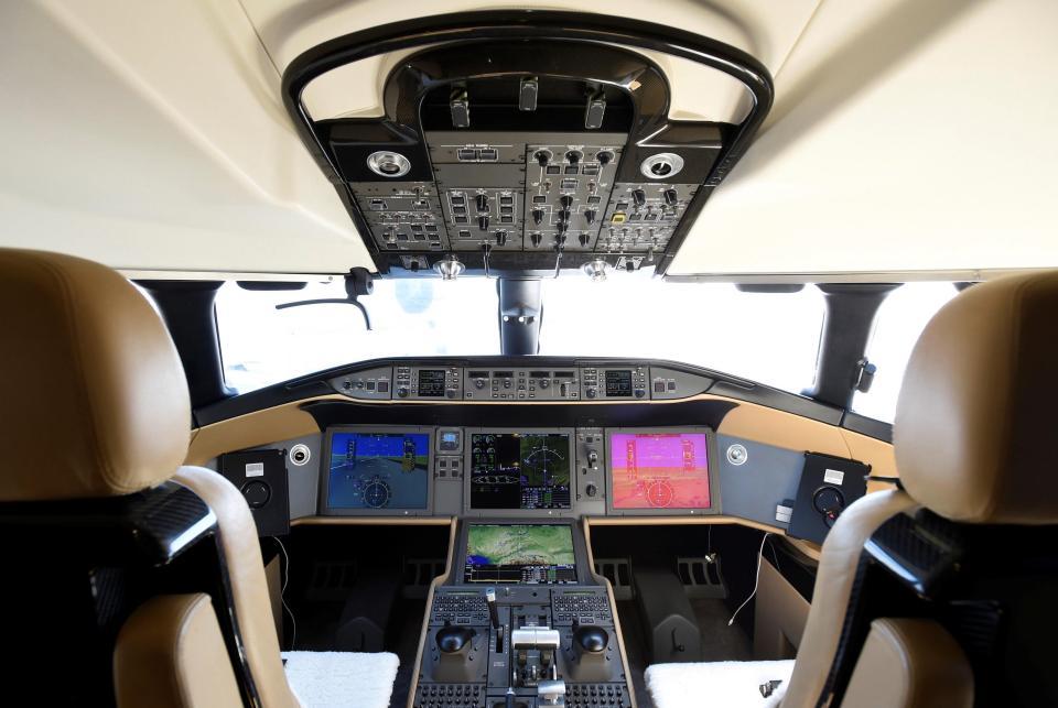 Крупнейший частный самолет за $72 000 000