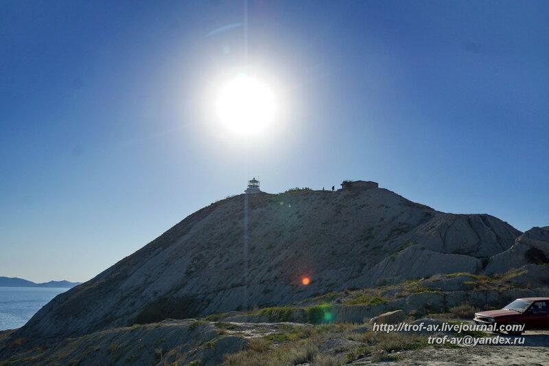Ильинский маяк и немецкие ДОТы в Феодосии