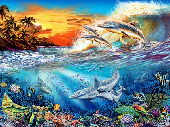 День Черного моря. Подводный мир