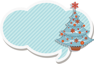 зимний декор, зимние разговорники