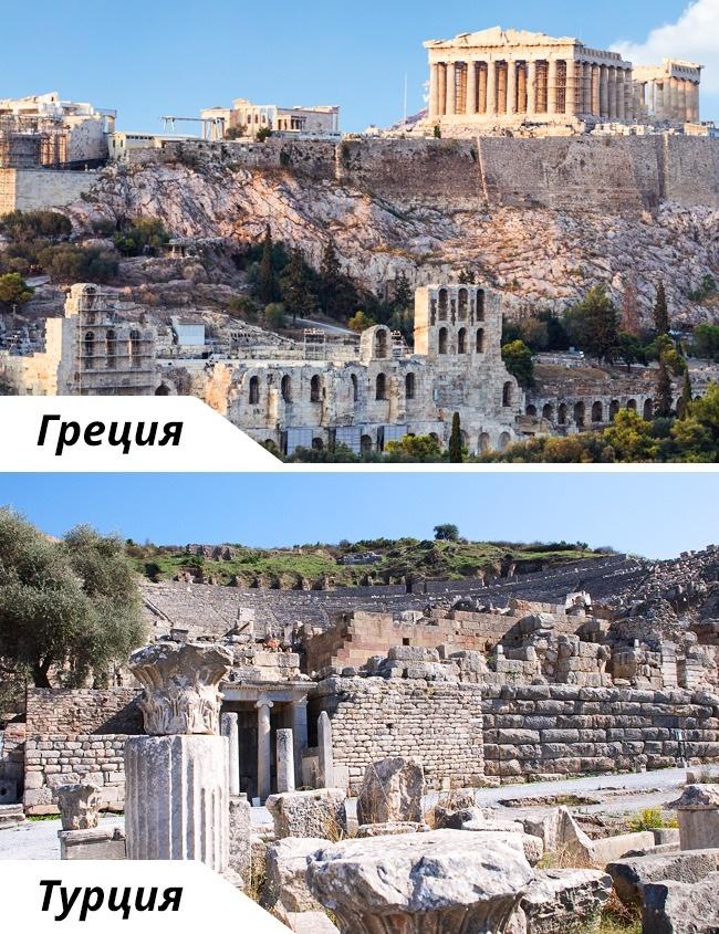 © depositphotos  © depositphotos     Развалины древнего города, остатки теа