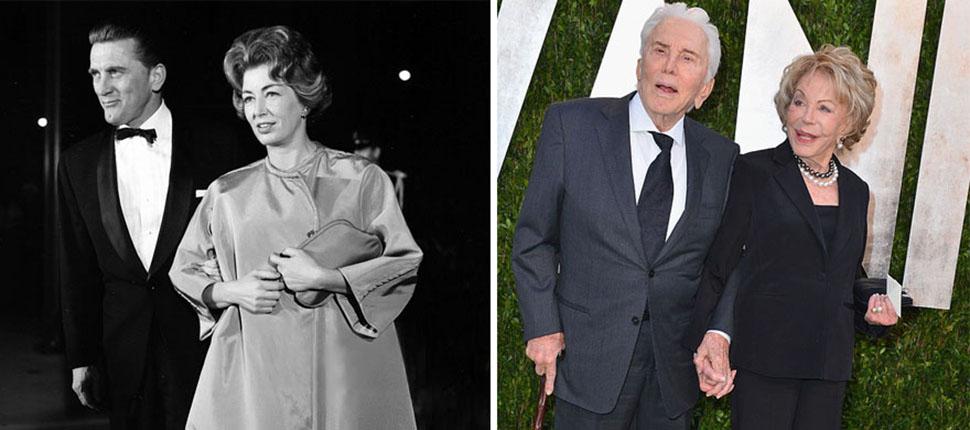 Кирк Дуглас и Энн Байденс, 62 года вместе.