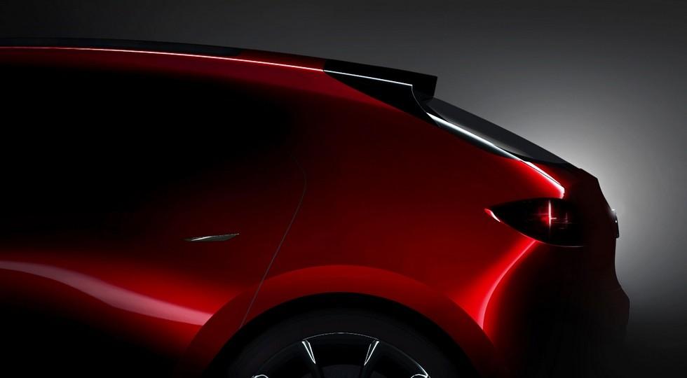 Концептуальный хэтч, который, вероятно, является предвестником следующей Mazda3  Еще на мотор-шоу