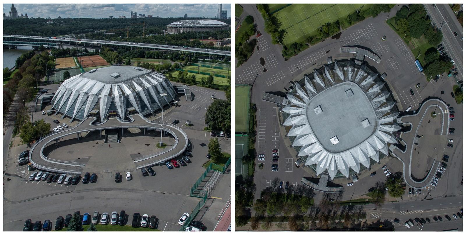 ЗАЛ «Дружба» был построен в 1979 году для проведения соревнований XXII Олимпиады 1980 года. Авторы п