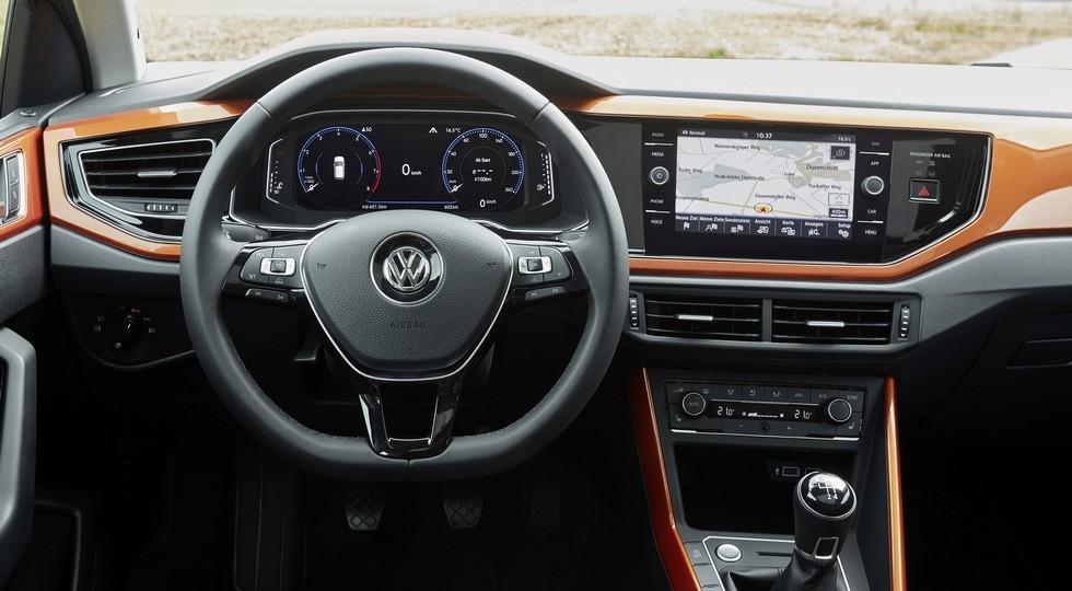 На фото: хэтчбек VW Polo нового поколения, версия для Европы  Напомним, хэтч Volkswagen Polo шесто