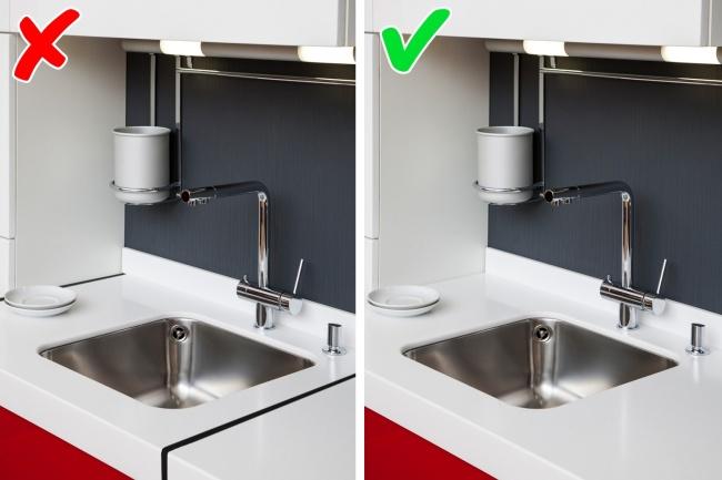 13интерьерных фишек, которые помогут упростить уборку (13 фото)