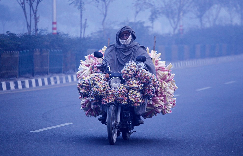 Индия является  вторым в мире производителем и экспортером хлопка . (Фото Ajit Solank