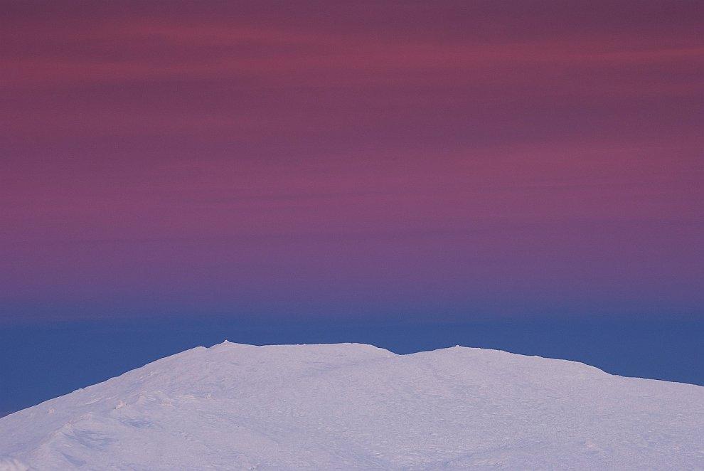 Панорама плато: