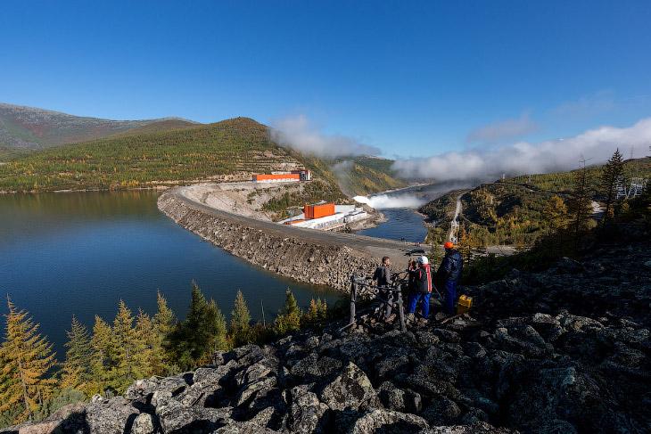 Фотографии и текст Александра «Russos» Попова   1. Колымская ГЭС расположена на 1854 км от усть