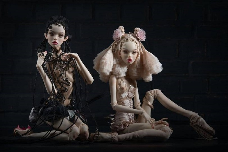 О русской кукле: кукольники, создающие гиперреалистические  творения