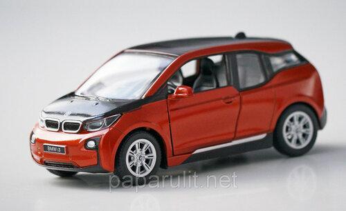 Машинка металлическая Kinsmart BMW i3