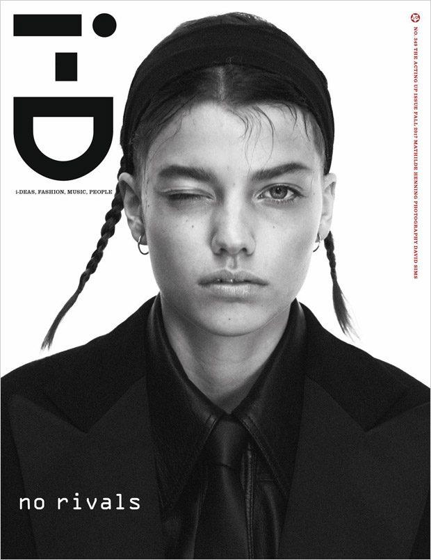 Paris Jackson, Mathilde Henning & Selena Forrest for i-D Magazine