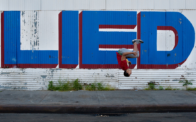 Airborne in the Bronx: Jose the Amazing Photographed by Chris Arnade
