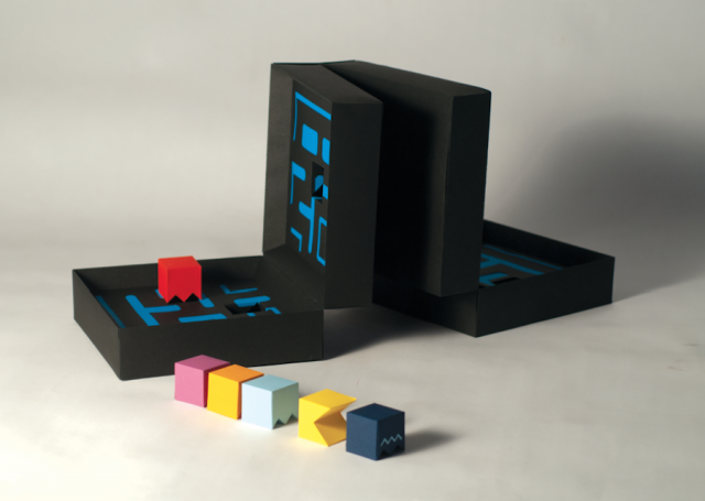 Pacman Game Reimagined in a Board Game