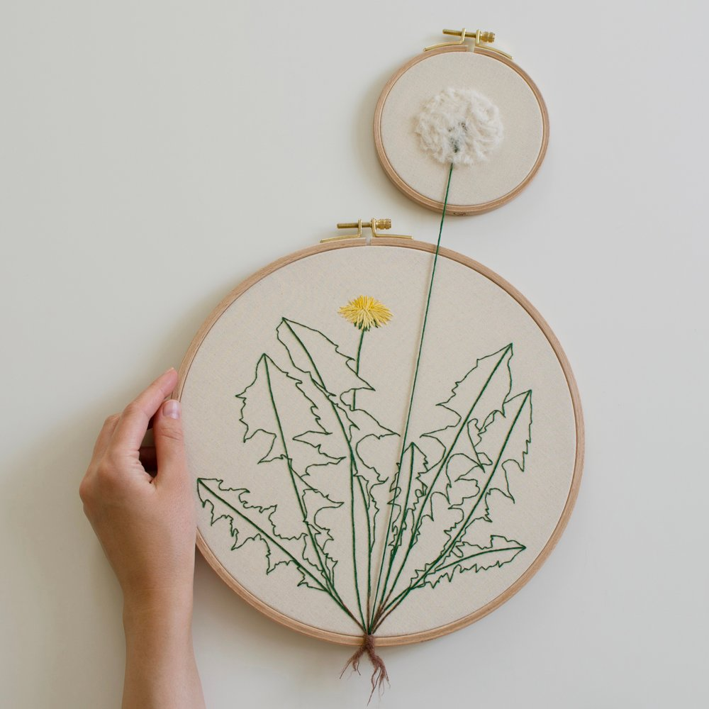 Garden Vegetable and Plant Embroideries by Veselka Bulkan (10 pics)