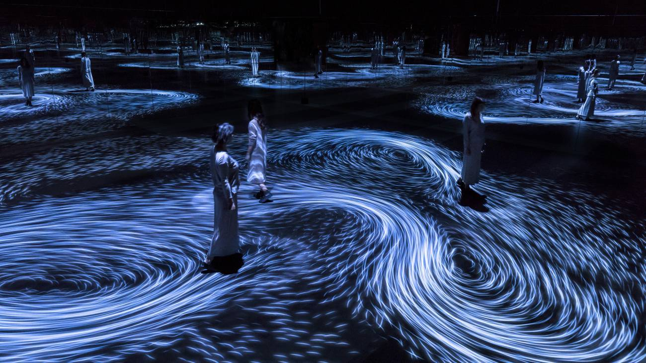 Amazing Installation about Movement and Vortex
