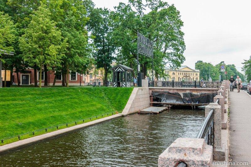 2-й мост Круштейна, Новая Голландия, Санкт-Петербург