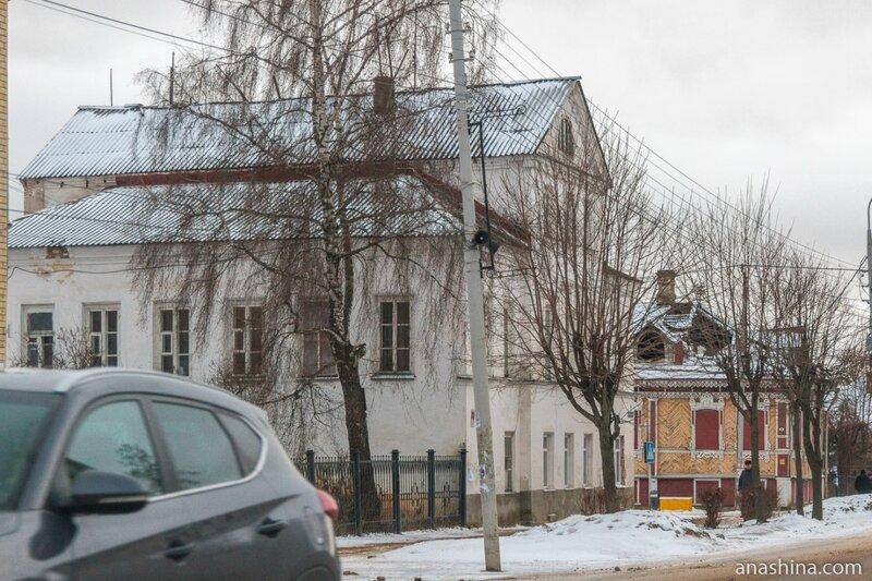 Старинная застройка Ярославской улицы, Углич