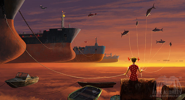 A Separate Reality - Digital Artworks - Alex Andreyev