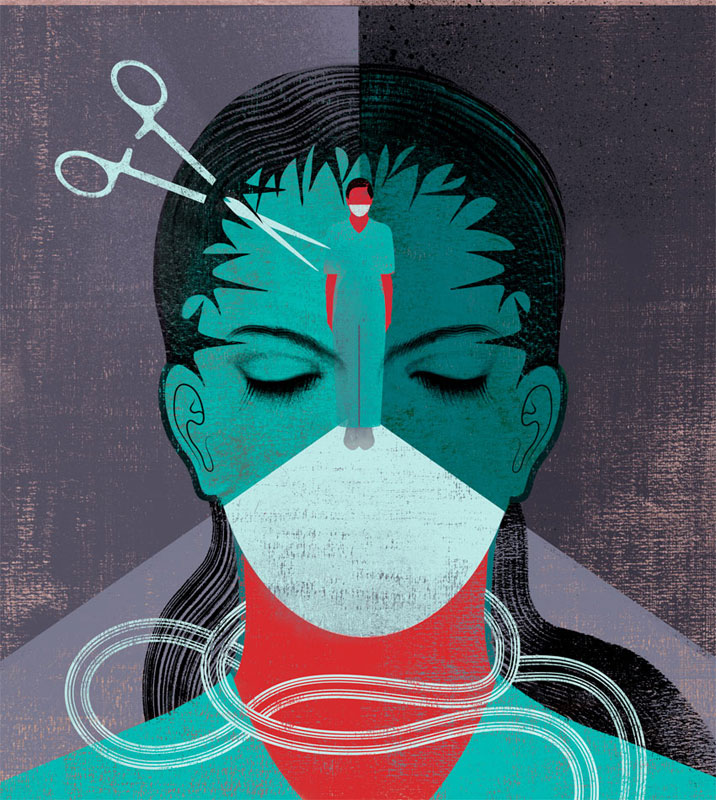 Scientific Articles Illustrations by Anna and Elena Balbusso
