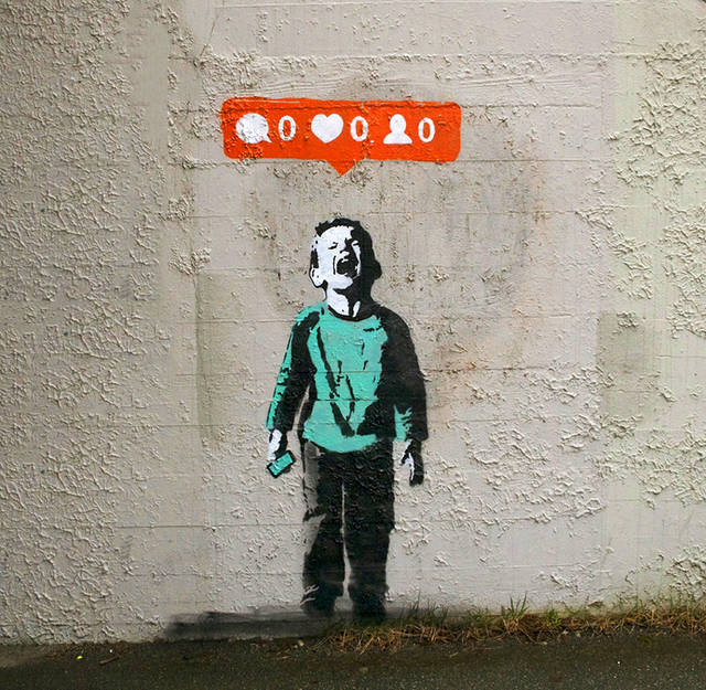 Social Media Culture Meets Street Art (11 pics)
