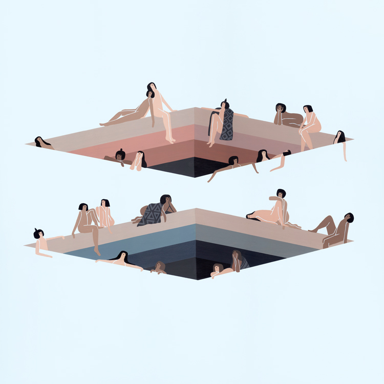 O mundo suave da artista Laura Berger