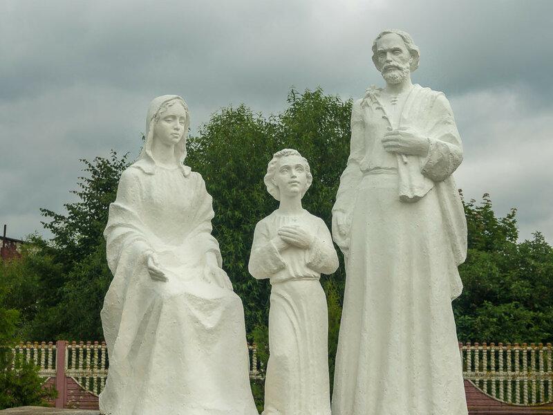 вдохновенные скульптуры