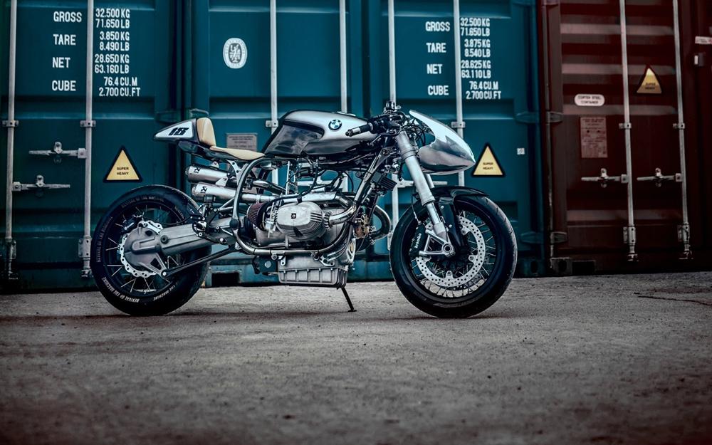 Revival of the Machine х XTR Pepo: кастом-байк BMW R100RS Silver Bullet Mk2