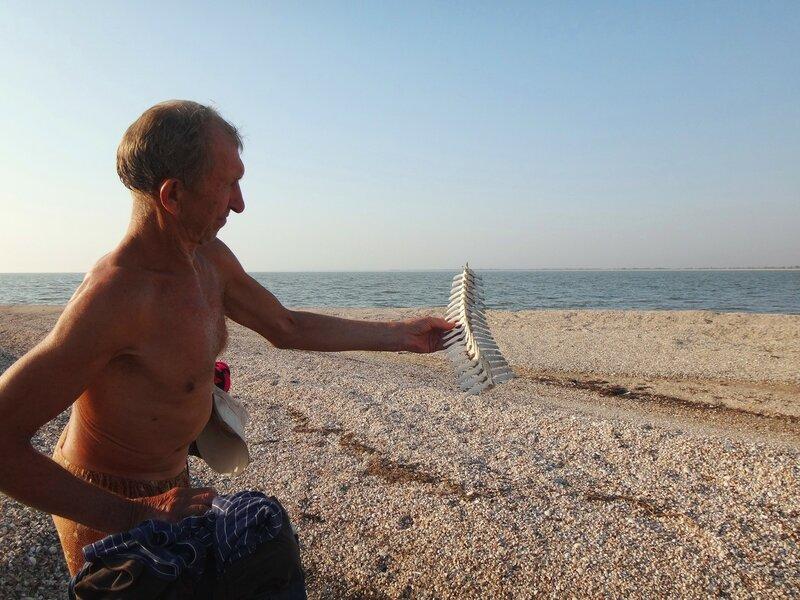 Была рыба ...   43. Фото из велокольца. Ахтари-Староминская-Бейсугский пролив (246).JPG