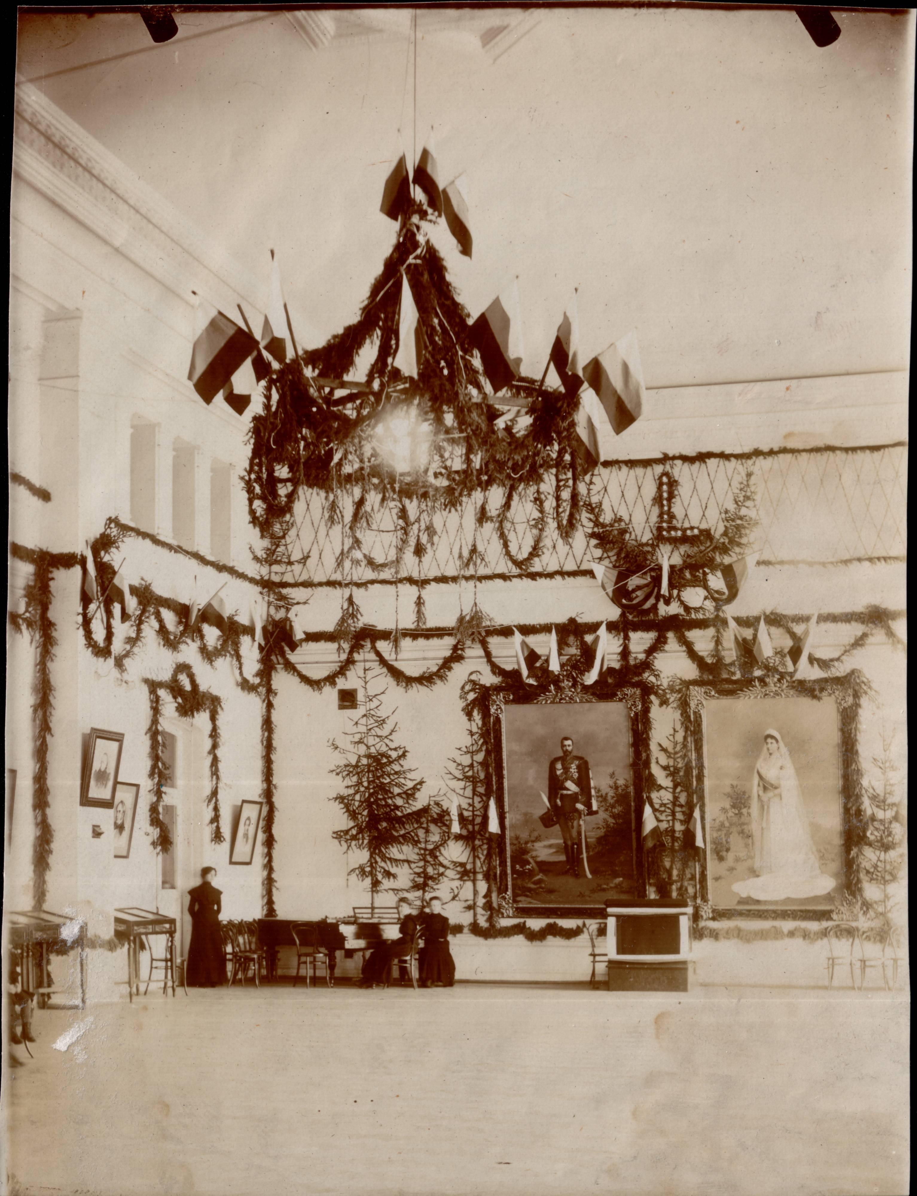 Актовый зал Мариинской женской гимназии